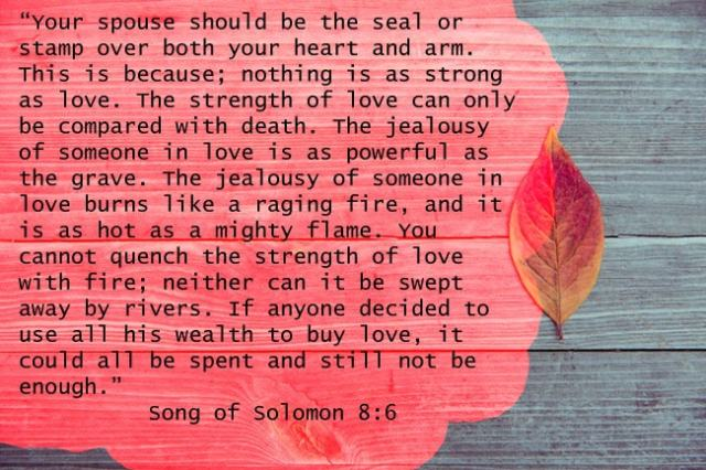 Song of Solomon 8:6