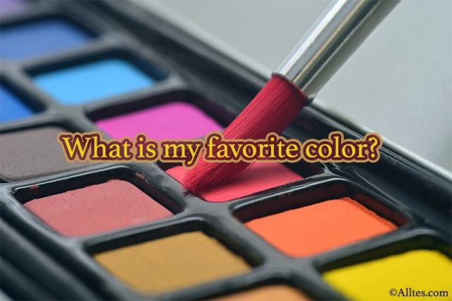 What is my favorite color