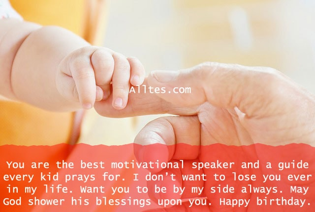 you are the best motivational speaker and a guide every kid prays for