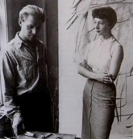 elaine-and-billkooning