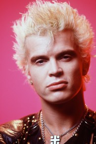 Billy Idol. Photo by Walter P. Calahan, USA TODAY