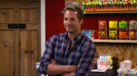 Special shout-out (M): Candy Andy - Ryan Hansen on 2 Broke Girls. Why this special shout-out? Well I'm just glad Ryan Hansen is back on our television screens! He was great as Dick Casablancas on Veronica Mars and these days you can enjoy his goofiness on 2 Broke Girls as Candy Andy. Yes, that's his name for real!