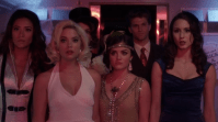 Best themed episode (M): Pretty Little Liars 3x13 This Is a Dark Ride. I just had to mention Pretty Little Liars somewhere in this list. They always have great costume parties (one of my favorites is the masked ball), but this one was a great one episode comeback. Although Pretty Little Liars is on ABC Family, it can still scare the crap out of you. Aria being trapped in a box and knowing that Toby is part of the A-team plus the reveal of Alison's body bag makes this a very memorable episode and I can't wait for the second half of the season to start in 2013!
