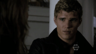 Heartthrob of the year (M): Jake - The Secret Circle. There are a lot of heartthrobs on tv, but I decide to go with Jake from The Secret Circle played by Chris Zylka. He was introduced on the show like the a perfect bad boy (and love interest for Cassie): mysterious, the older brother of a just deceased Nick, a witch with the wrong friends and a smoldering look. Too bad the show is cancelled and we never got the chance to see him redeem himself with his adorable puppy eyes. P.S.: Also a small shout-out for James Lafferty who played Nathan Scott for nine years. He would have won the heartthrob of the decade award, for sure!