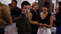 Biggest douchebag (M): Schmidt - New Girl. Dating two girls at once is not a smart idea, fella. Schmidt went from funny douche to über douche in a few episodes. After the girls found out the show went downhill... which sucks.