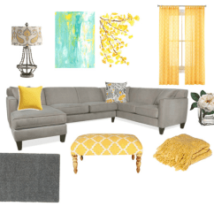 Yellow Grey Turquoise Living Room Ceiling Fan For A And All That Glitters