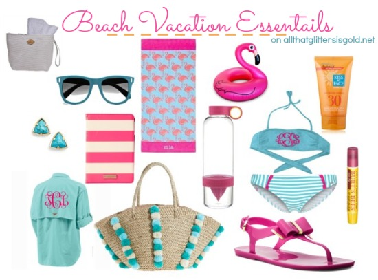 Beach Essentials All That Glitters