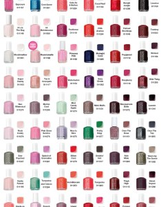 Essie colour chart pn also nail polish all that glitters rh allthatglittersla