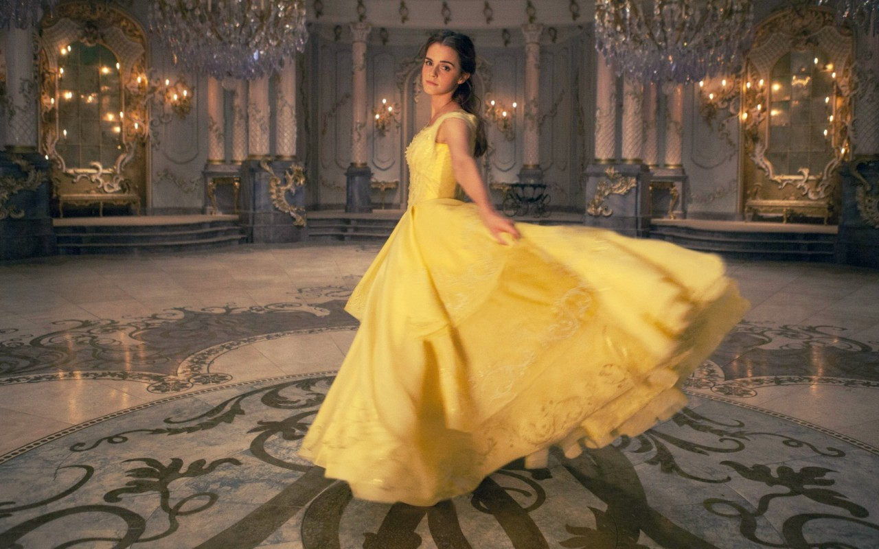 Five dresses inspired by belle from beauty and the beast for Beauty and the beast style wedding dress