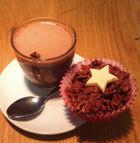 Costa Lindt Hot Chocolate