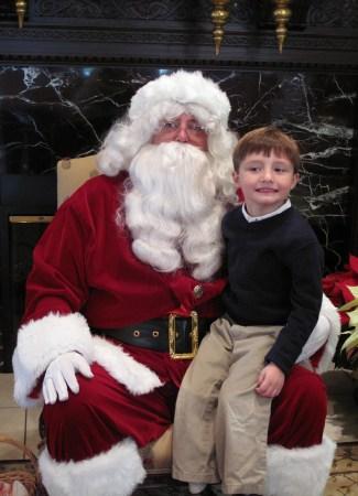 Keep your eyes on Santa
