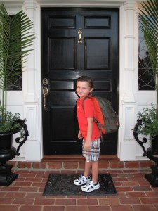 Peters First Day Of School