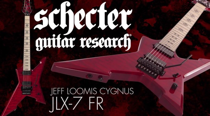 Jeff Loomis Demos His New Schecter JLX-7 Signature Guitar