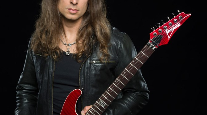 Megadeth's Kiko Loureiro Shredding Across the Globe
