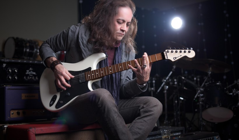 Jake E Lee and his Charvel Guitars