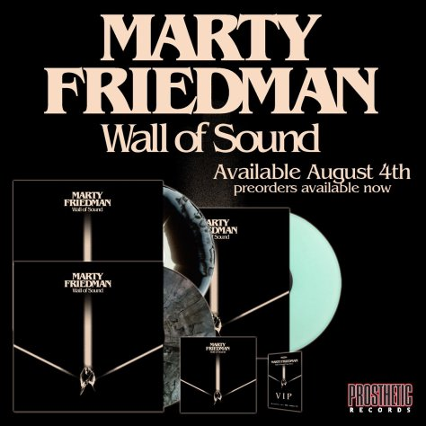 Marty Friedman Announces 'Wall Of Sound' U.S. Tour With SCALE THE SUMMIT And THE FINE CONSTANT