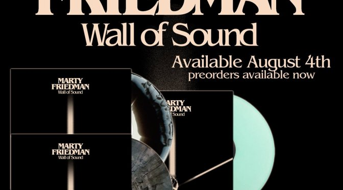 Marty Friedman Showcases His Signature Jackson MF-1 Models And Plays Snippets Of His New Album 'Wall Of Sound'