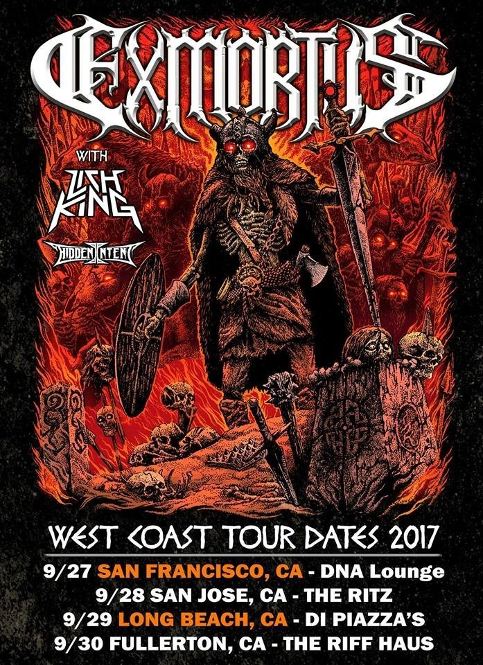 SoCal Heavy Metal Shredders EXMORTUS Announce Tour Dates With Darkest Hour And Warbringer