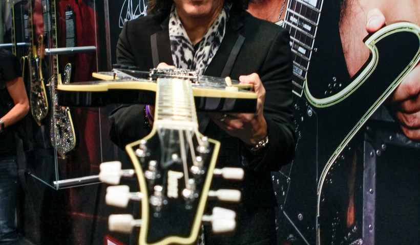 Paul Stanley Unveils His New Ibanez Signature Series Guitar At NAMM 2018