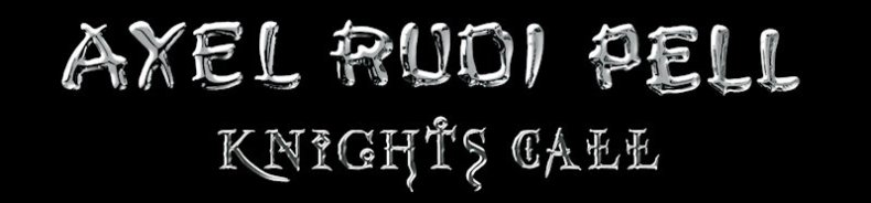 "Guitarist Axel Rudi Pell To Release New Album ""Knights Call"""
