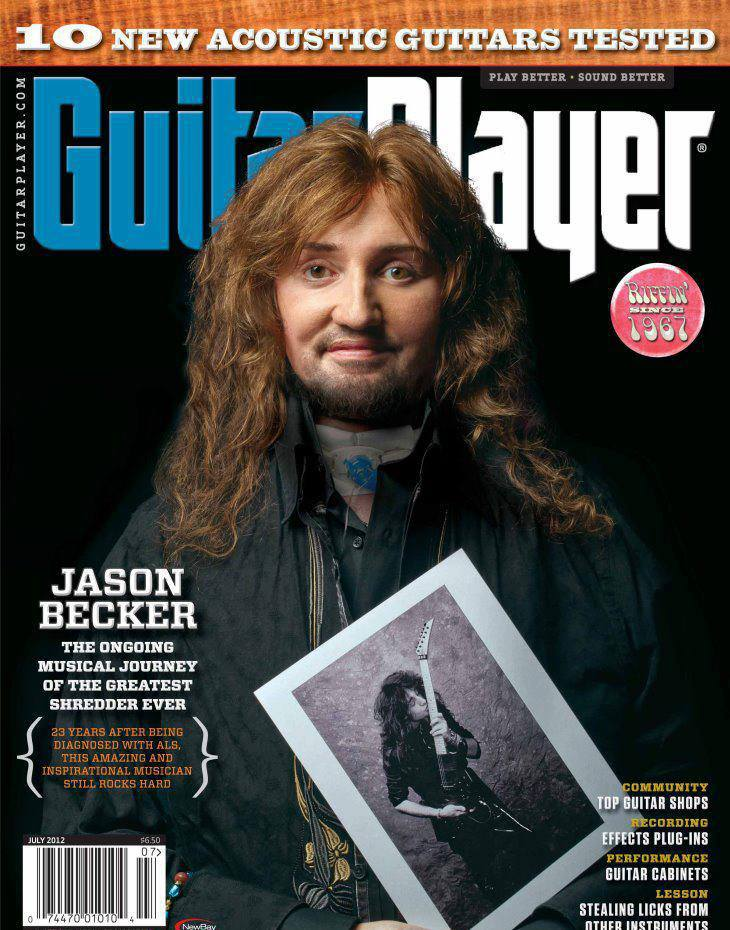 All That Shreds Magazines Hall Of Fame Inductee - Jason Becker