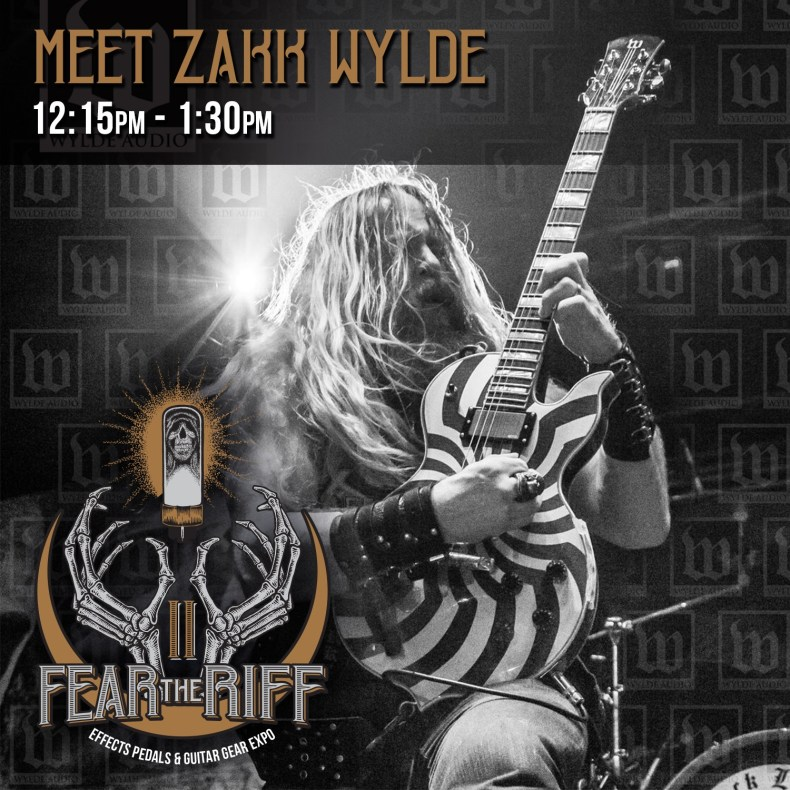 Zakk Wylde Confirmed For Second Annual Fear The Riff Expo