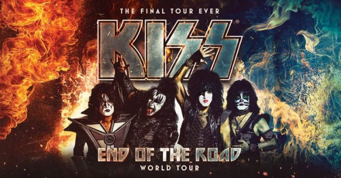 "KISS Announce Dates For ""The End Of The Road"" Final Tour"