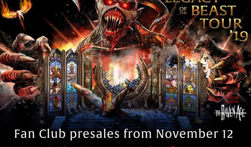Iron Maiden Announces Legacy Of The Beast 2019 US Tour Dates