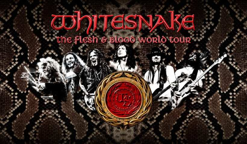 Whitesnake Reveals Flesh And Blood Release Details & 2019 Tour Dates