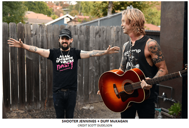 "Duff McKagan Releases Shooter Jennings Produced ""Tenderness"""