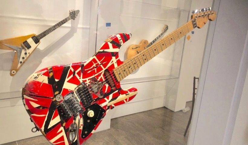 Guitars from Eddie Van Halen, Jimmy Page Featured In 'Play It Loud: Instruments of Rock & Roll' Exhibition