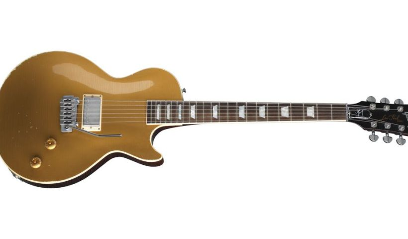 Gibson Unveils Joe Perry Gold Rush Les Paul Axcess