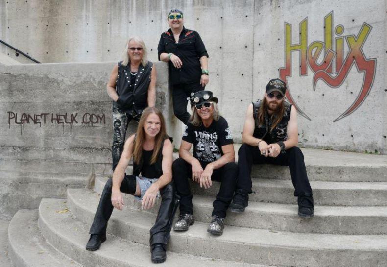 """Veteran Rockers Helix Release New Album """"Old School"""""""
