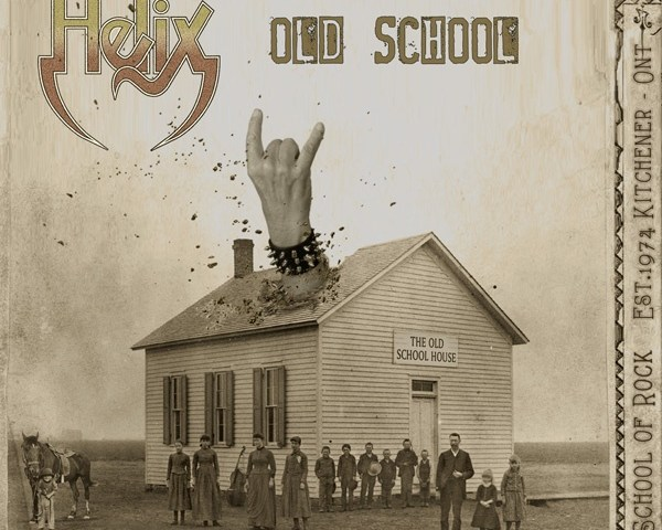 "Veteran Rockers Helix Release New Album ""Old School"""