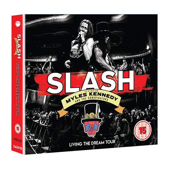 Slash Ft Myles Kennedy And The Conspirators-'Living The Dream Tour' Live Concert Due Out Sept. 20