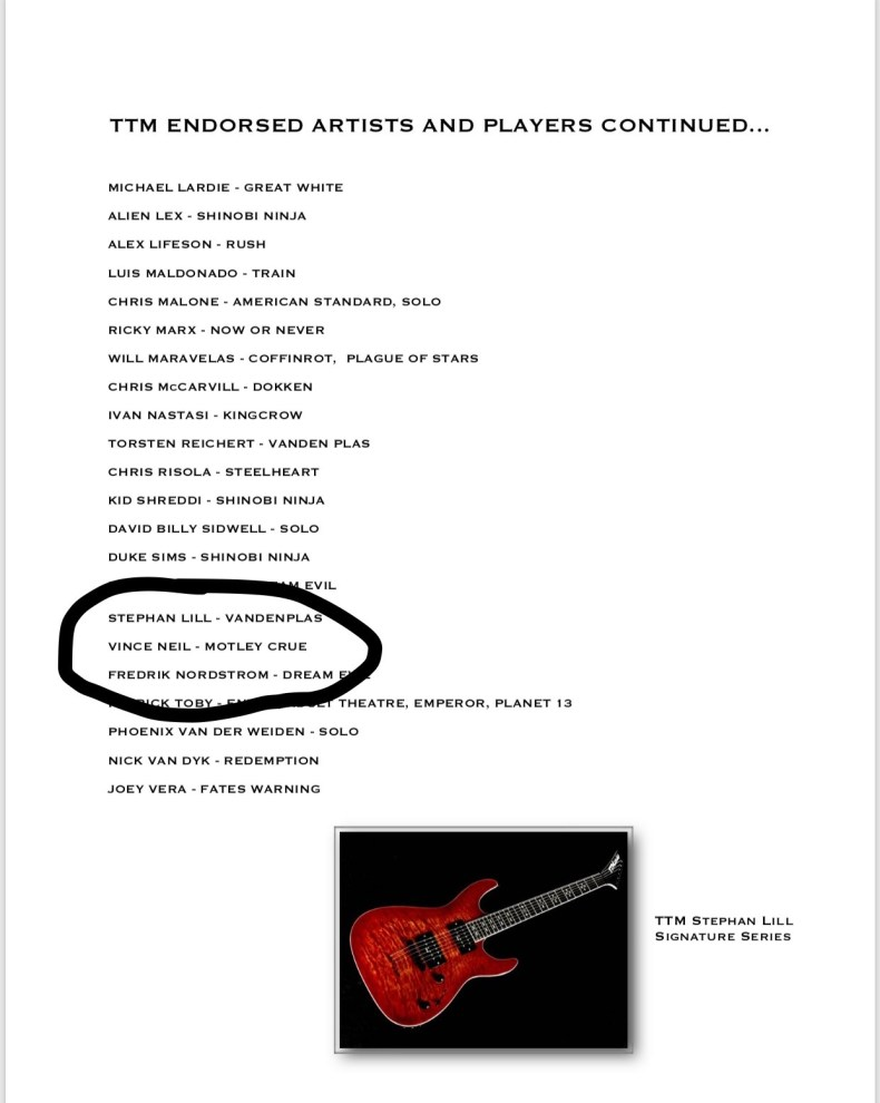 TTM Guitars Endorsement Deal Or Pay To Play?