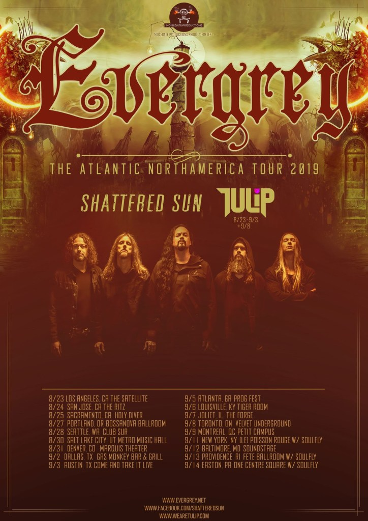 Female-Fronted Groove Metal Band Tulip Announce Tour With Evergrey