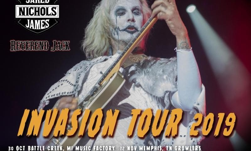 John 5 & The Creatures Announce Second U.S. Leg Of Their Invasion Tour