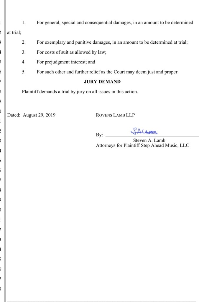Lance Benedict & TTM Guitars Former Business Partner Suing Him For Over 100K For Fraud, FBI Now Involved