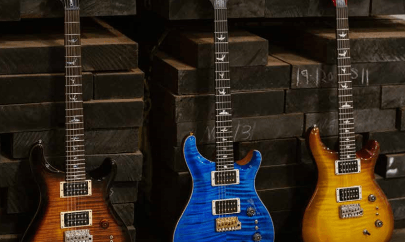 PRS Guitars Celebrates 35th Anniversary With New Models, New Finish, And New TCI-Tuned Pickups
