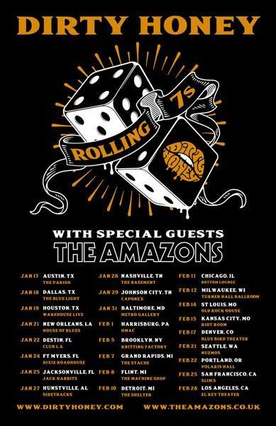 Rockers Dirty Honey Announce Jan/Feb 2020 U.S. Headline Tour