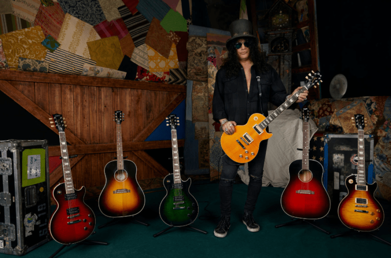 Gibson Announces New Slash Collection has For Worldwide Release In 2020