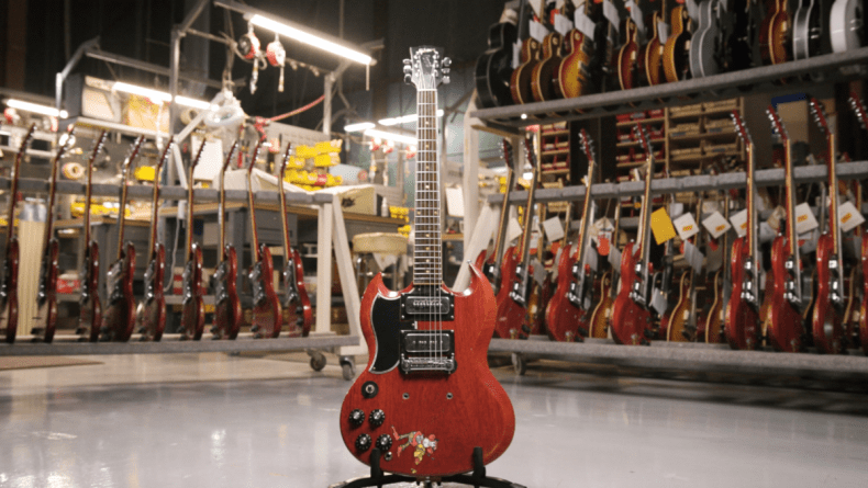 Gibson: Tony Iommi 'Monkey' 1964 SG Special Replica From Black Sabbath Legend Available Worldwide