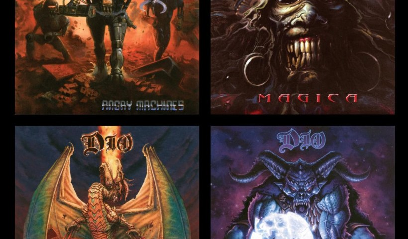 Dio's Studio Album Collection: 1996-2004 Remastered Reissues Available Today