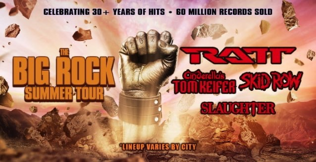 'The Big Rock Summer Tour' Feat. Ratt, Tom Keifer, Skid Row & Slaughter Officially Canceled