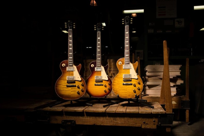 Gibson Launches Search And Reward For Missing '59-'60 Shipping Ledger; '57-'60 Gibson Guitars Remain the Most Collectible And Valuable Of All Brands Worldwide