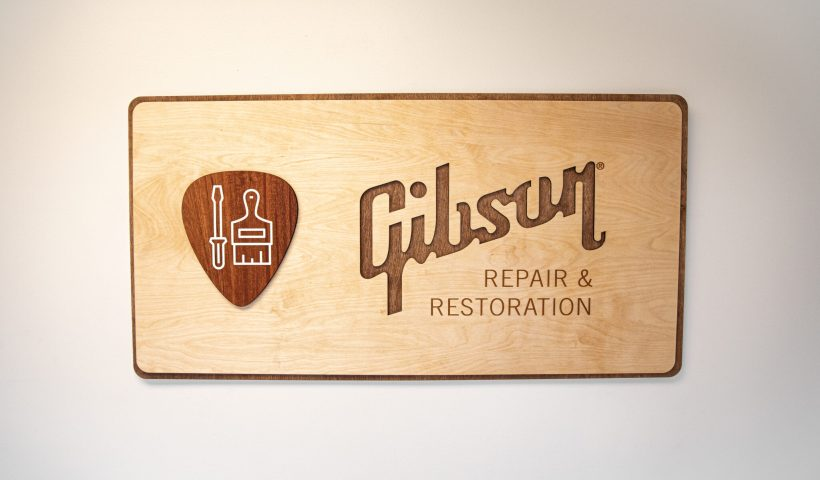 Gibson Re-Launches Repair And Restoration Shop In Nashville