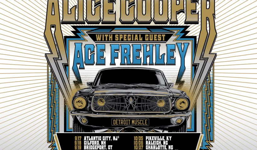 Alice Cooper Announces Fall Tour With Special Guest Ace Frehley