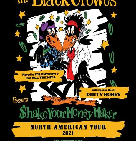 Dirty Honey Announced As Main Support For The Black Crowes Summer Tour