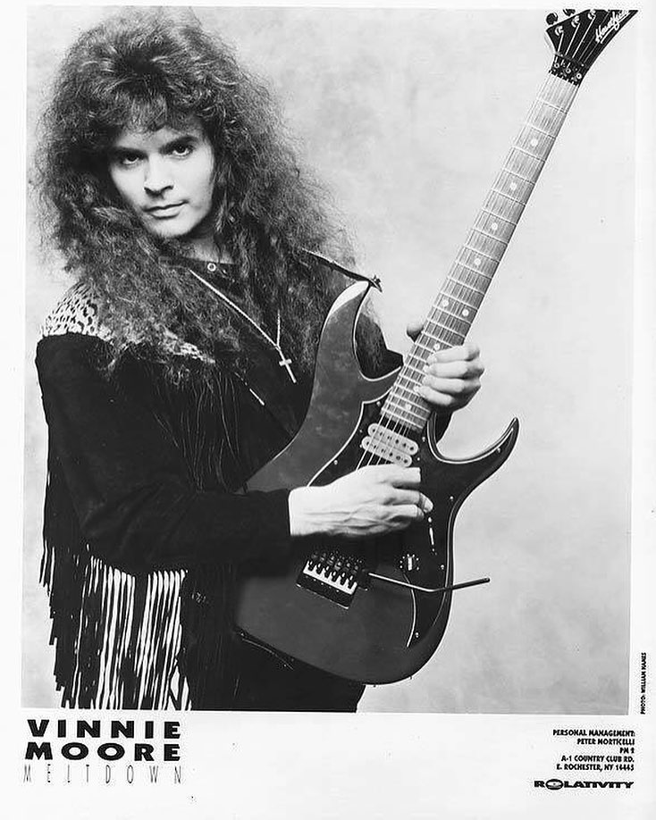 Vinnie Moore: The Guitarist That Will Make Your Soul Shift